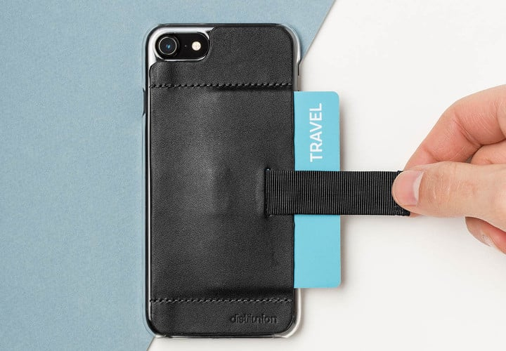 While not designed to hold your entire pocketbook, the Wally Ether is a great choice for anyone who prefers a minimal iPhone case.