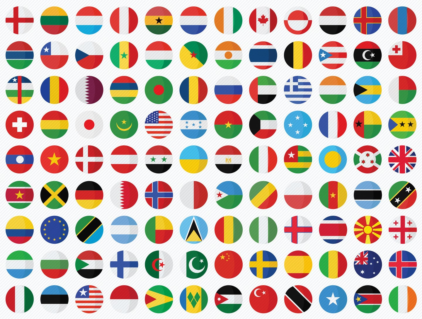 Change your App Store country flag icons