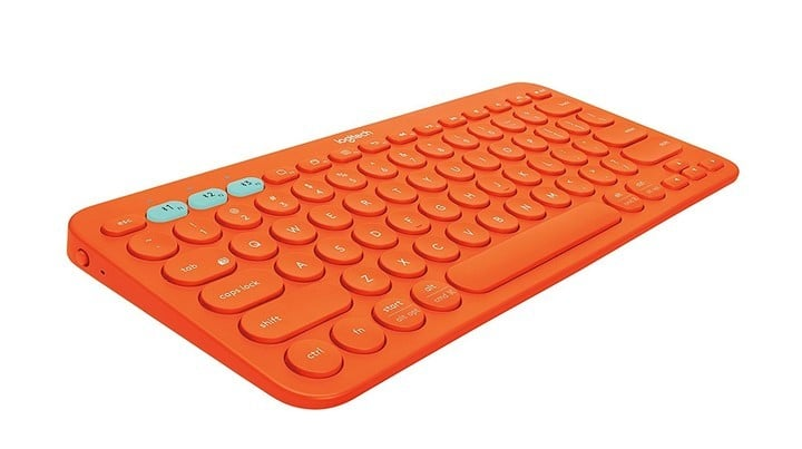 Logitech K380 in Orange