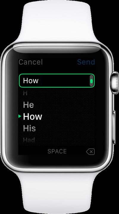 You can even use Predictive Text to write messages even faster.