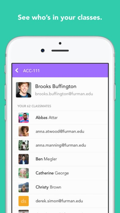 Brooks Buffington, cofounder of Yik Yak, is prominently displayed in Hive's App Store screenshots
