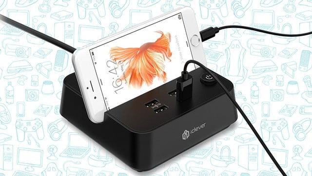 This Cool Little iClever Boost Charging Strip is Just $16