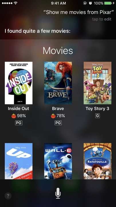 Siri movie Easter eggs Pixar