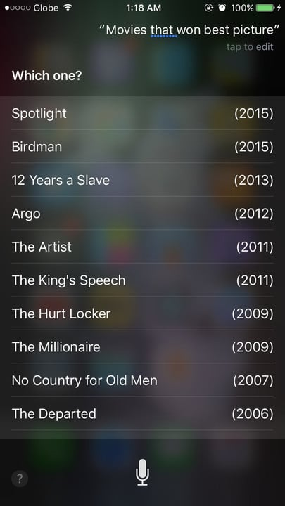 Siri movie Easter eggs best picture