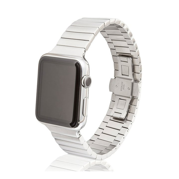JUUK Stainless Steel Apple Watch Link Bracelet