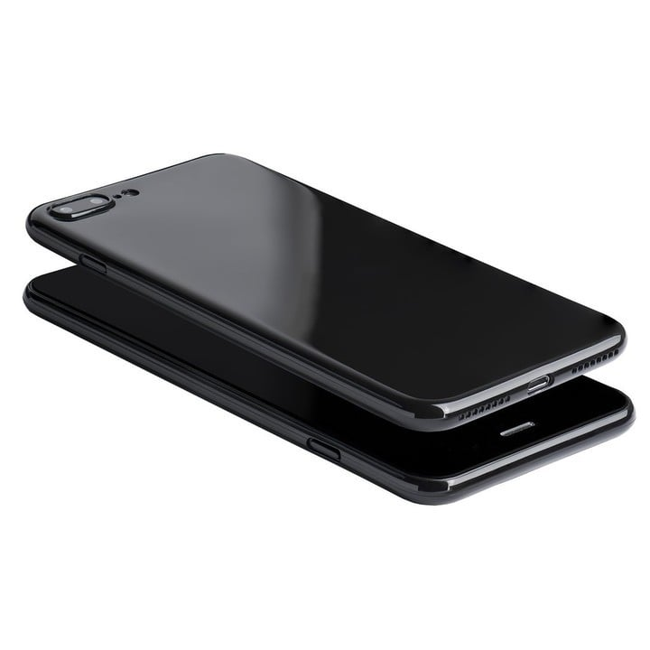 iphone 7 plus matte black case. totallee scarf iphone 7 plus jet black case iphone matte