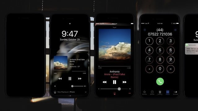 A New 'iPhone 8' Mockup Shows Dark Mode on an OLED Display