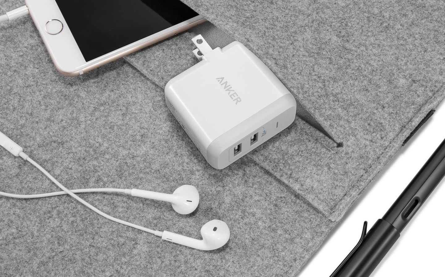 Anker's Popular 2-Port Wall Charger is Cheaper Than Ever