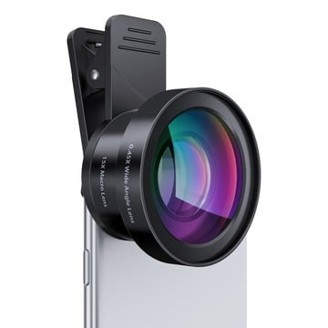 Aukey Ora 2-in-1 Clip-on iPhone Camera Lens Set Enhances Your Photos