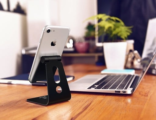 This Adjustable Smartphone Stand is Just $8 Bucks