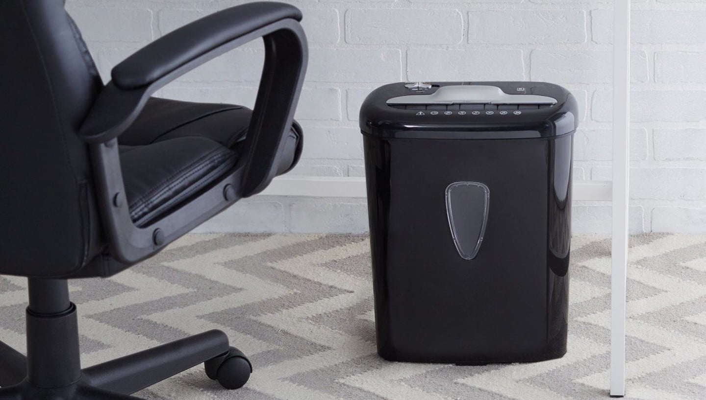 This 6-Sheet High-Security Paper and Credit Card Shredder is at an All-Time Low
