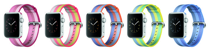 Spring 2017 Apple Watch Bands, additional purchase required