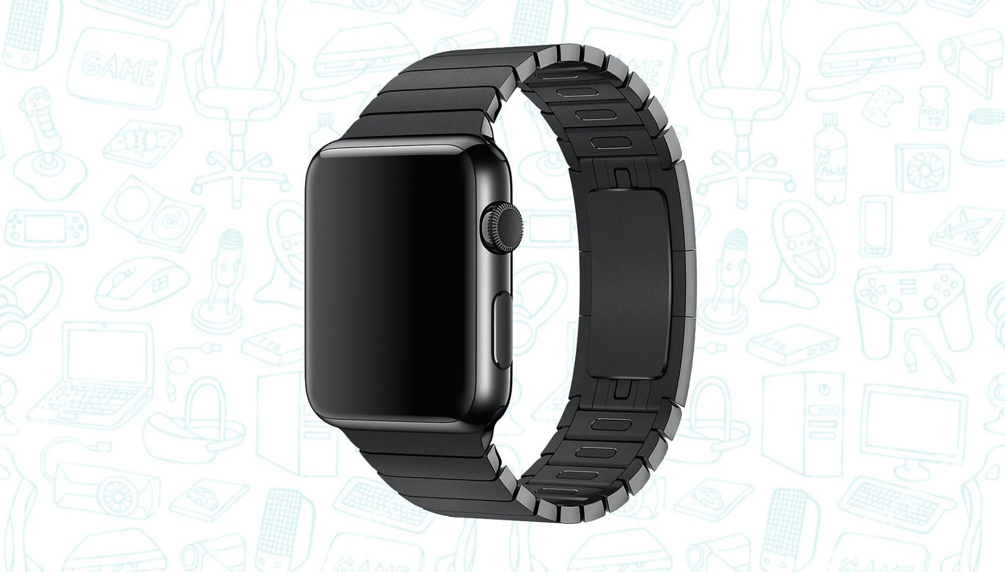 Get the Best Replica Apple Watch Black Link Bracelet for Just $50