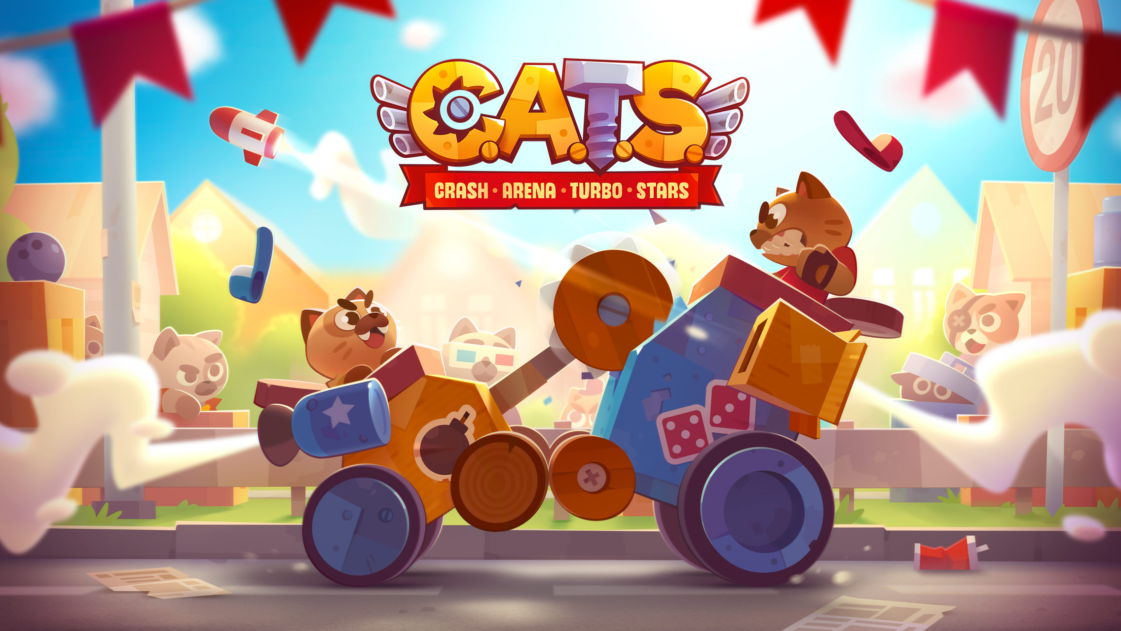 Cut the Rope Developer ZeptoLab Teases its New Game, C.A.T.S.