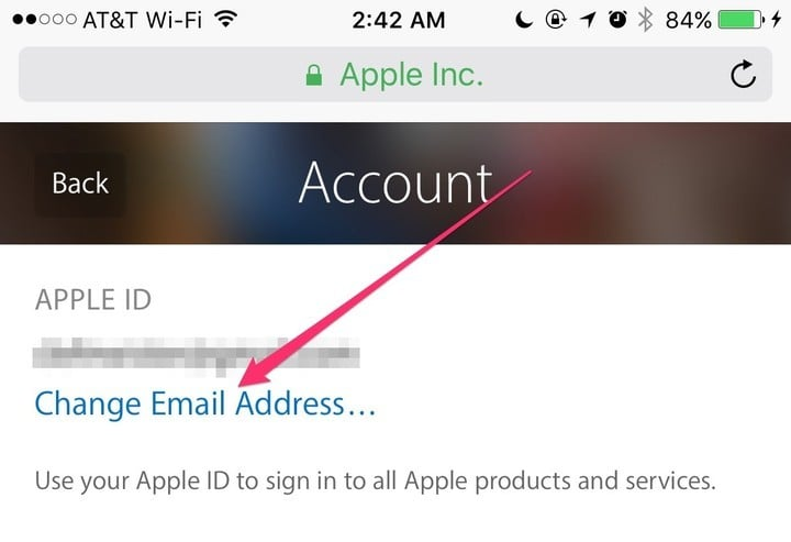 how to set up an icloud email address