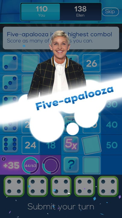 dicewithellenfive