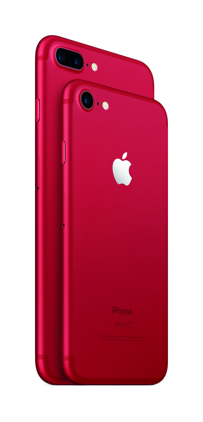 (PRODUCT)RED iPhone 7