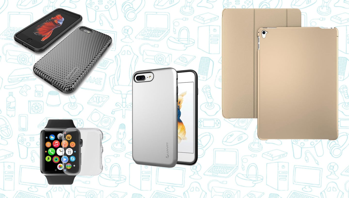 All These Luvvitt Cases for iPhone 7/6/s, iPad Pro, and Apple Watch are Just $4