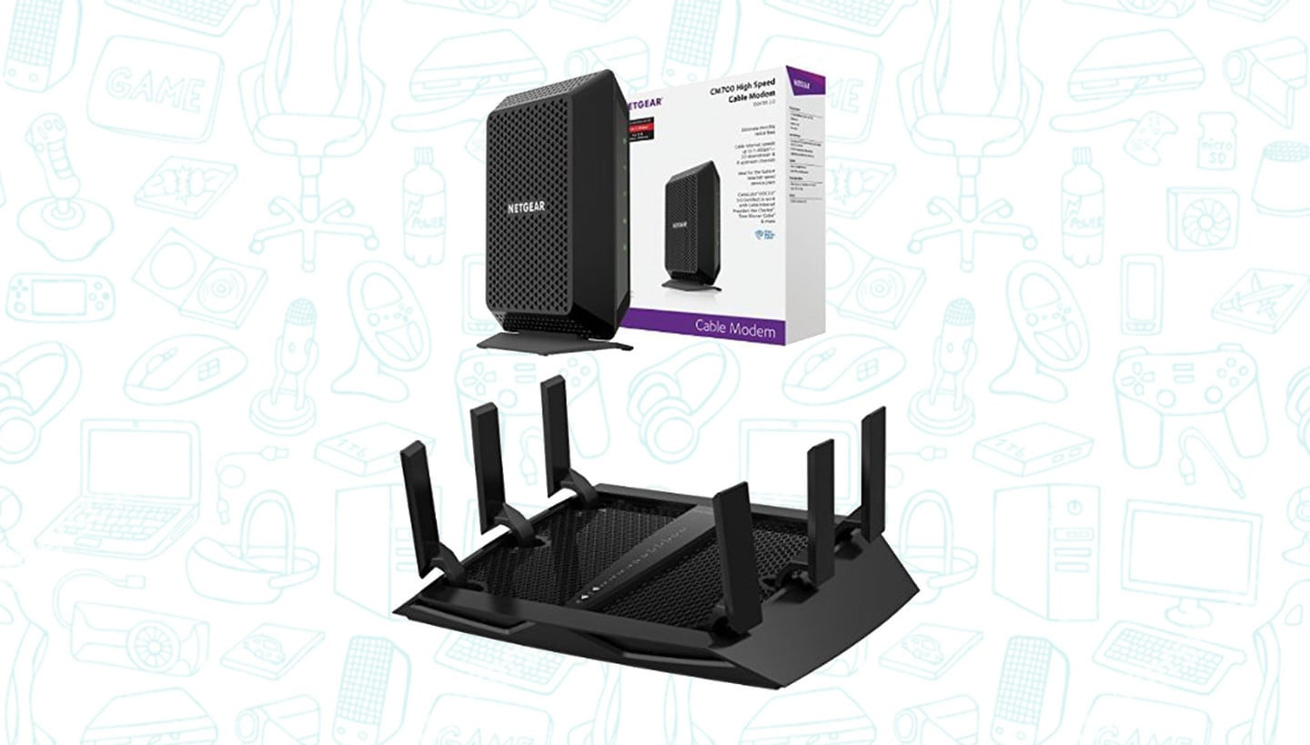 This Netgear Modem/Router Deal is Incredible