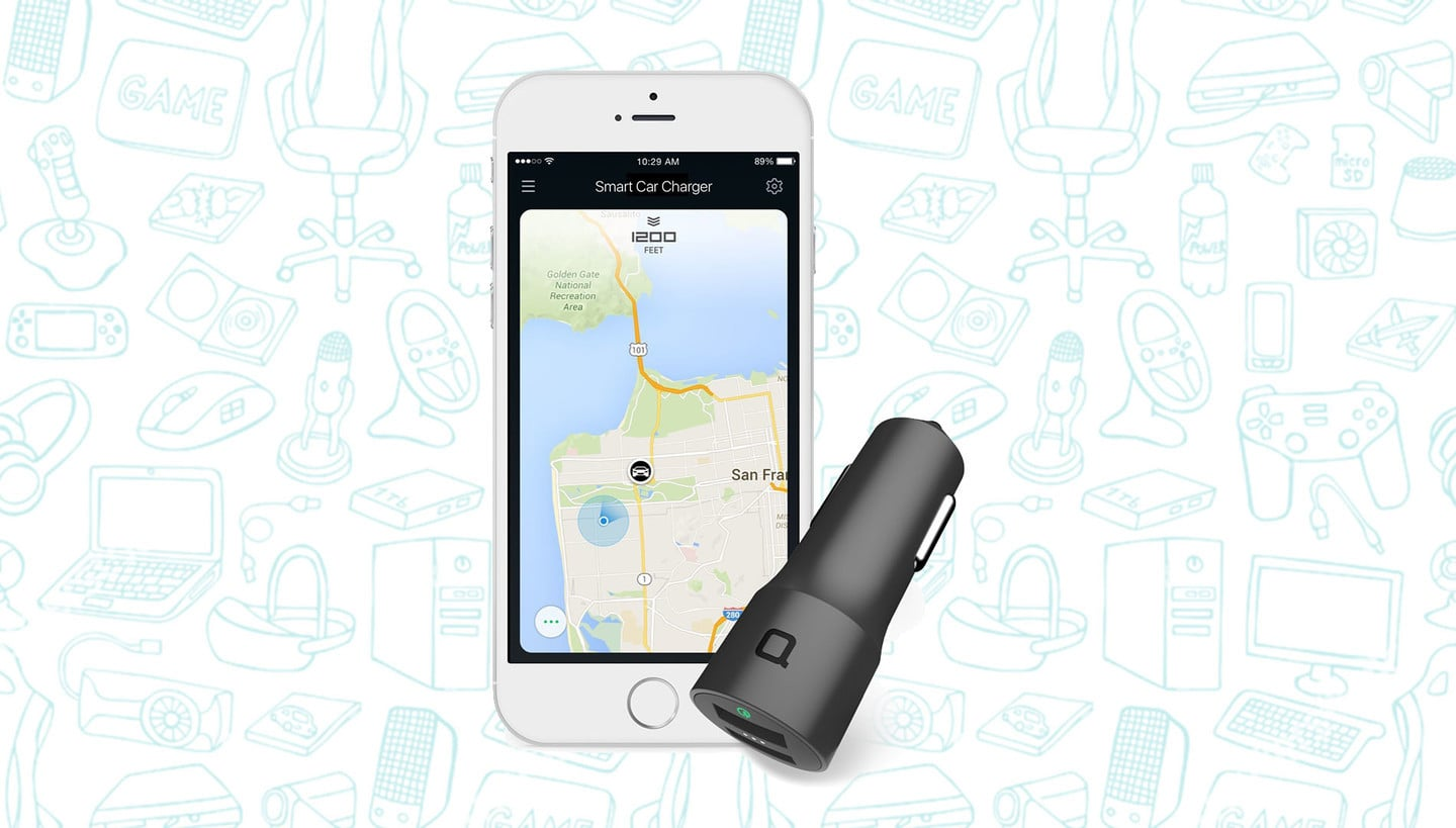 WHOA! This Nonda Car Charger Has a Built-In Car Locator and is Just $8