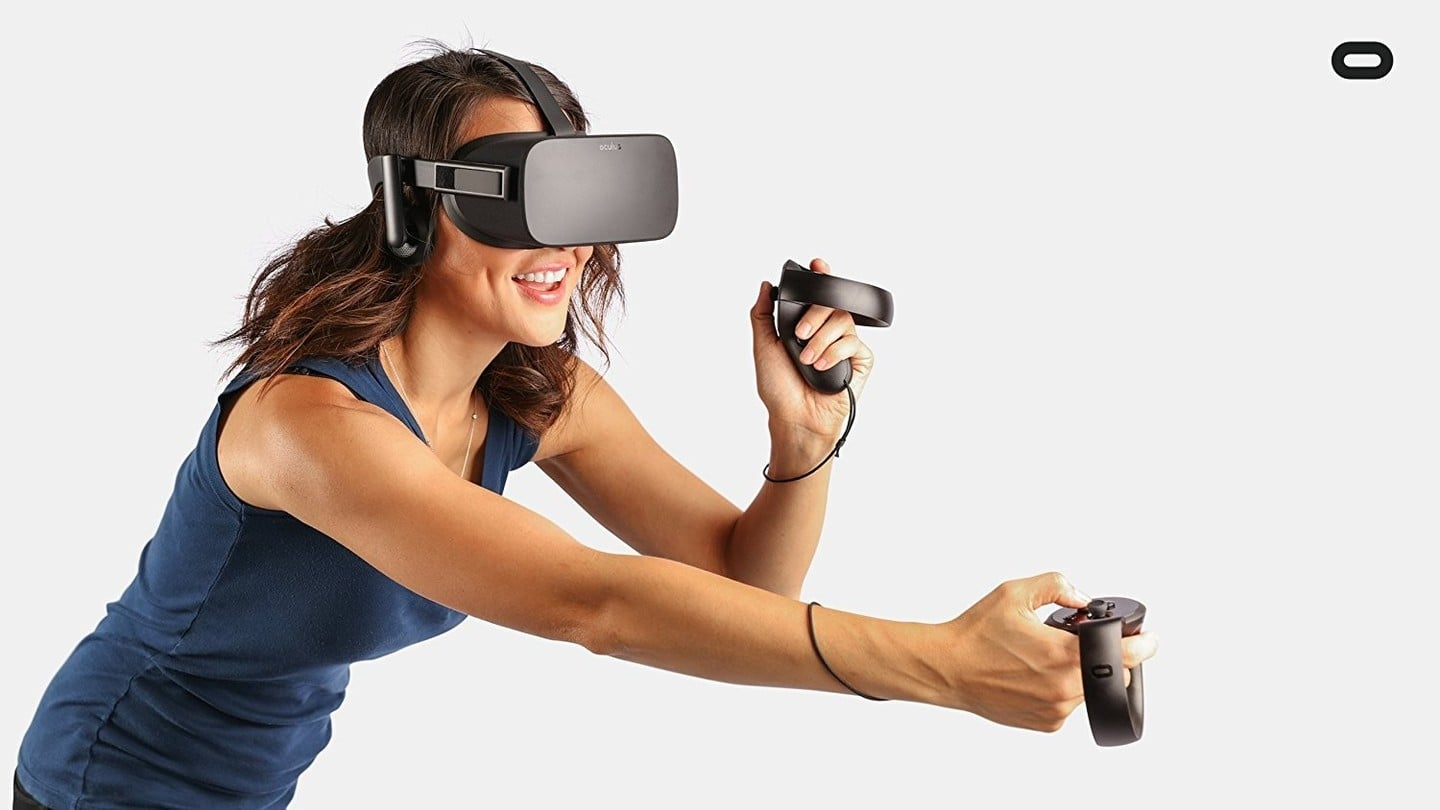 Save $100 on the Oculus Rift Headset and Oculus Touch Controllers