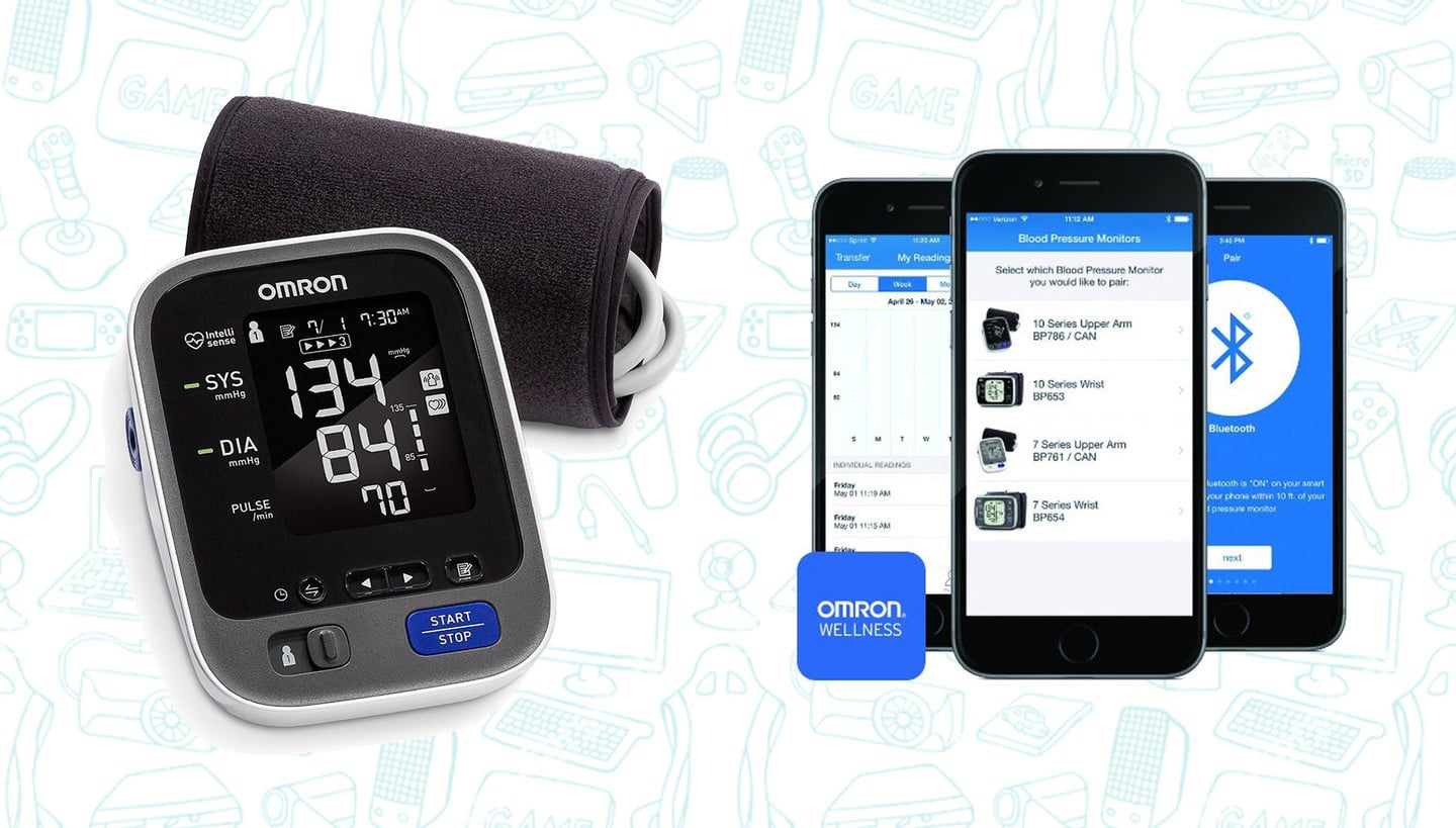 This Smart Blood Pressure Monitor is Just $52, Today Only