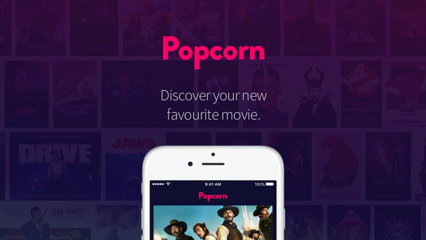 Popcorn Tinder for movies
