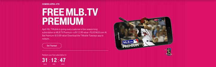 T-Mobile subscribers can snag a great gift from the carrier on April 4.