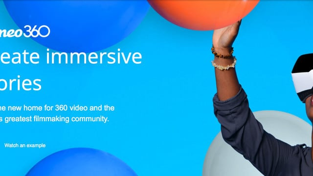Vimeo Now Supports 360-Degree Videos at up to 8K Resolution