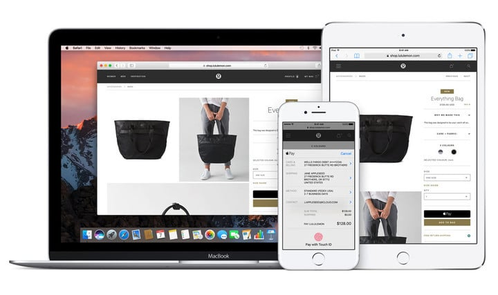 Apple Pay can be used at brick-and-mortar retailers and on the Web.