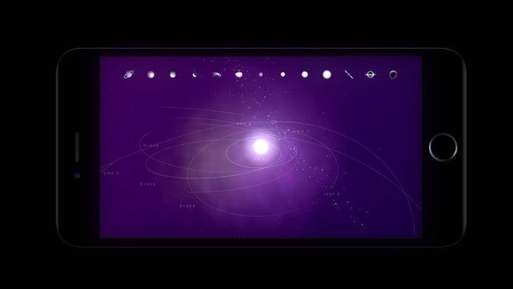 You can learn about asteroids, nebula, comets, planets, moons, different sizes of stars, pulsars, and even black holes by adding them to your star system.
