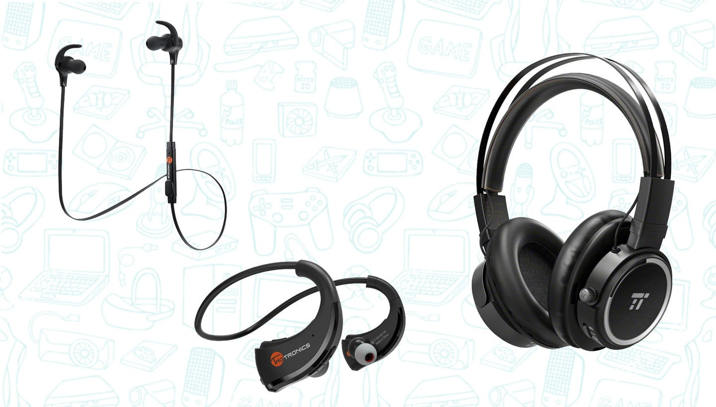 TaoTronics New Bluetooth Headphones are Just $11 or $18 Bucks