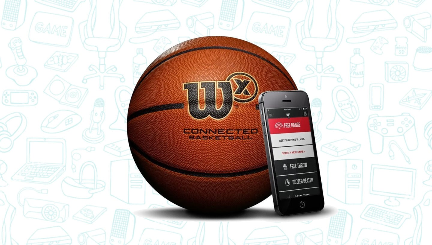 Up Your Basketball Game with the Wilson X Smart Basketball