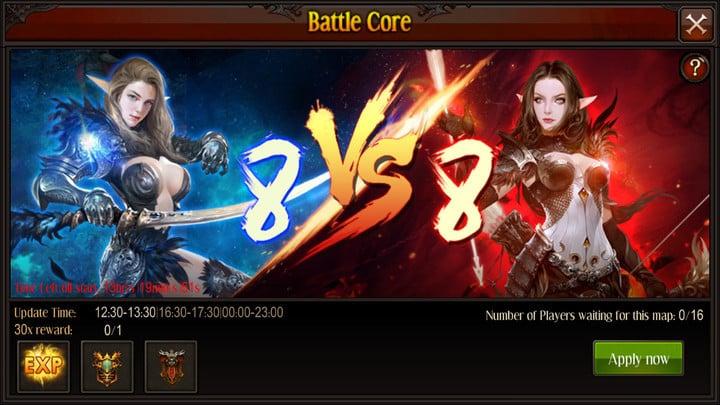 MU Origin update Battle Core