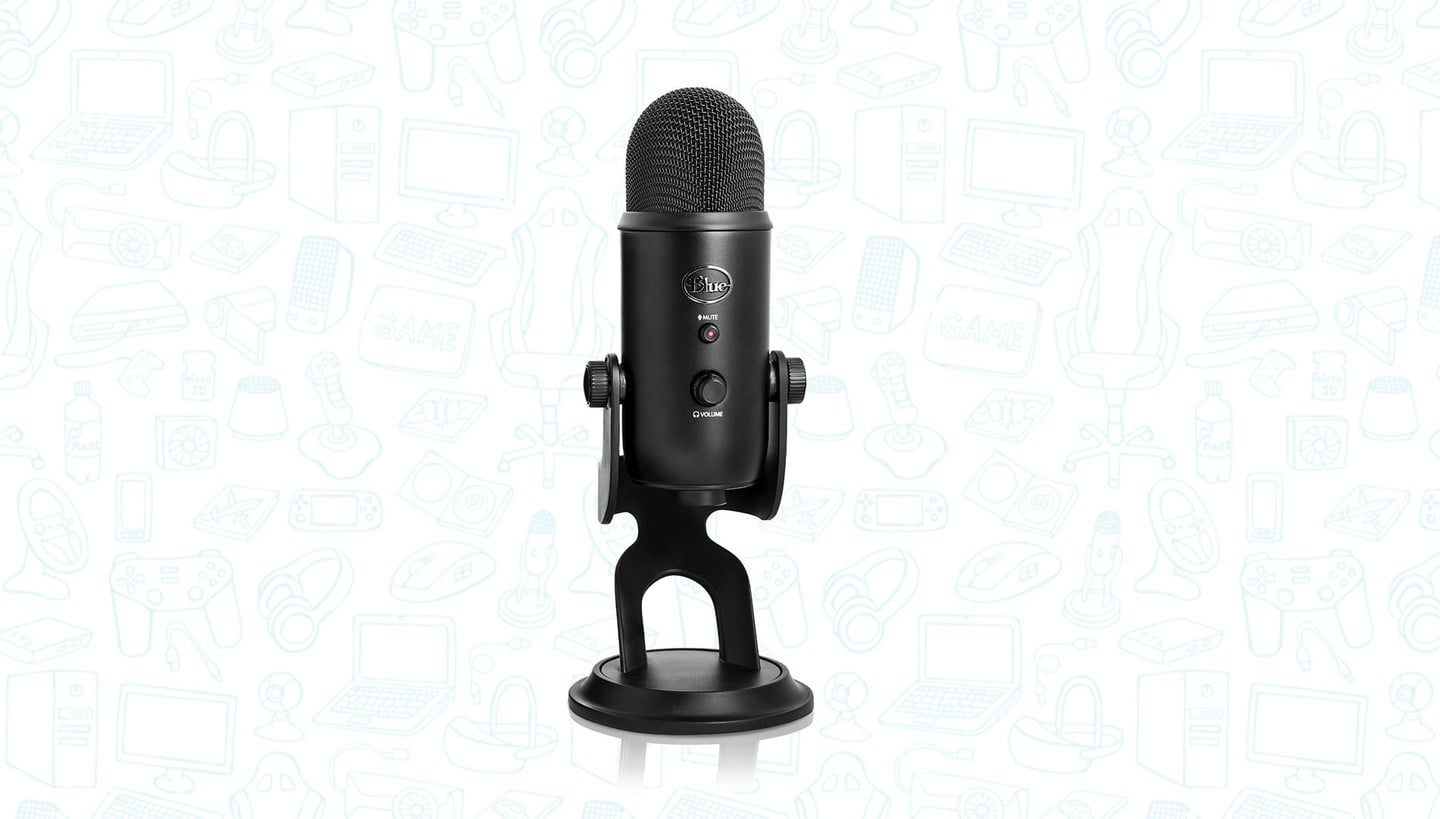 Get the Blue Yeti USB Microphone for Over 50% Off