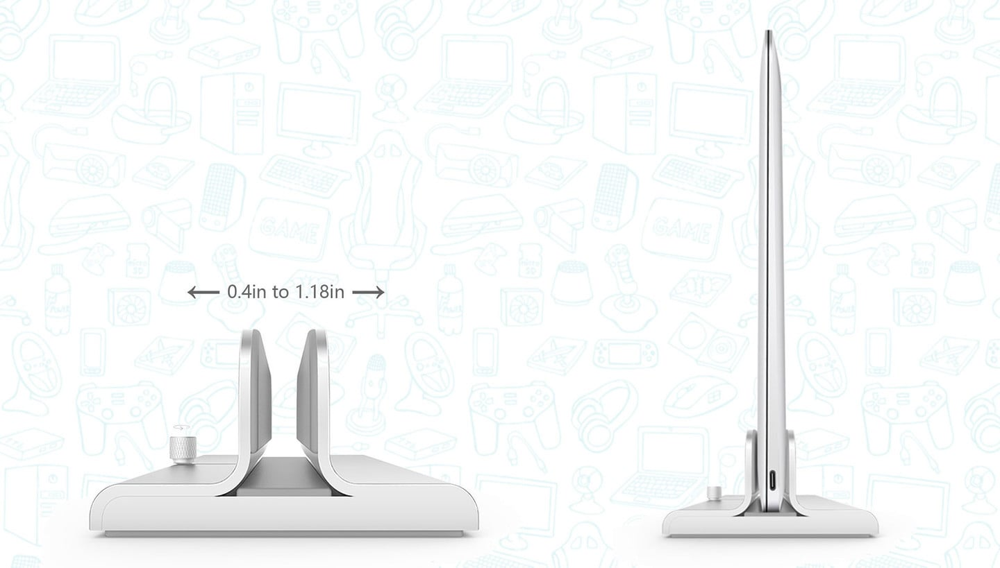 This Adjustable Laptop Stand Works with Any Laptop