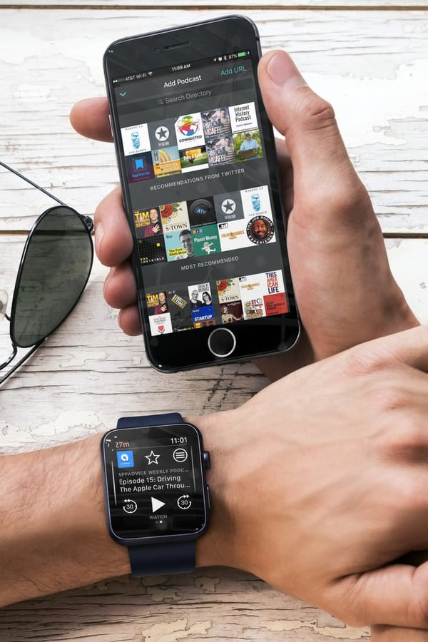 Now Hear This: Overcast Brings Offline Podcasts to Apple Watch