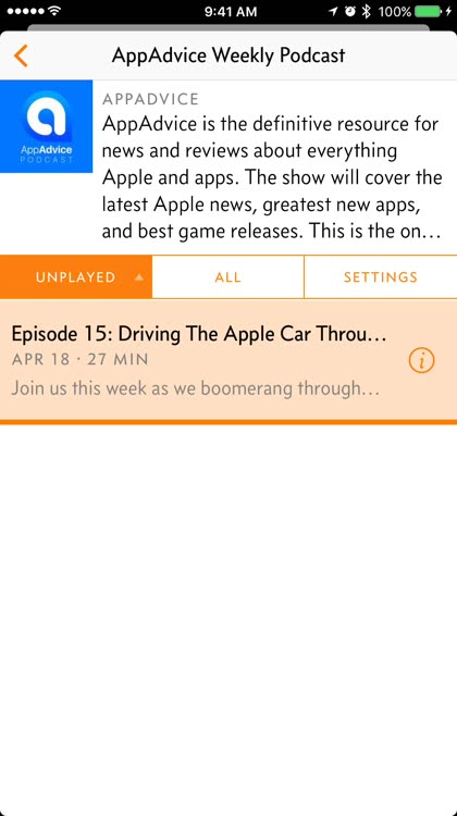 Send your favorite podcast episodes to Apple Watch