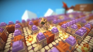 Bomberman Meets Crossy Road in the Endless iOS Game Tiny Bombers