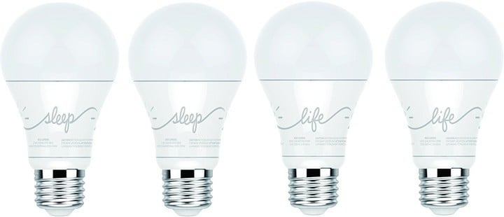 Both the C-Life and C-Sleep bulbs are dimmable and are designed to last up to 20 years with normal use.