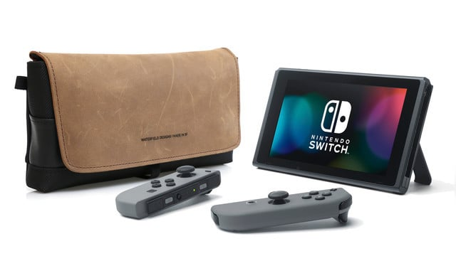 Stylishly Carry Your Nintendo Switch in Waterfield Designs' CitySlicker