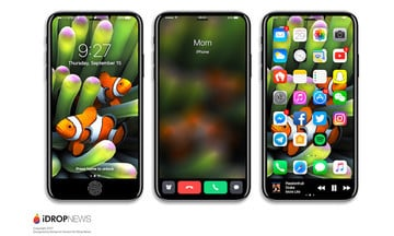The Latest 'iPhone 8' Mockup Shows the Usefulness of the Function Area