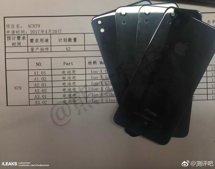 The purported leak of a component for an updated iPhone SE
