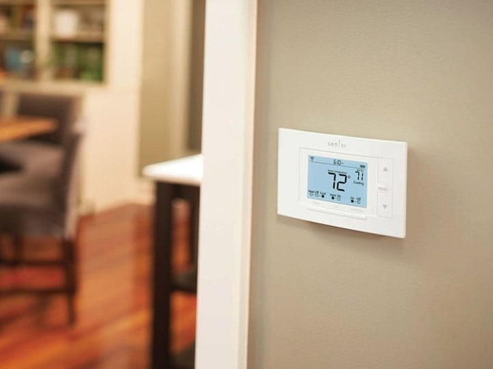 The Sensi Wi-Fi Thermostat is a low-cost way to add a HomeKit device to any home.