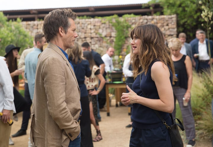 "Kevin Bacon and Kathryn Hahn, stars of the Amazon Prime series, ""I Love Dick"""