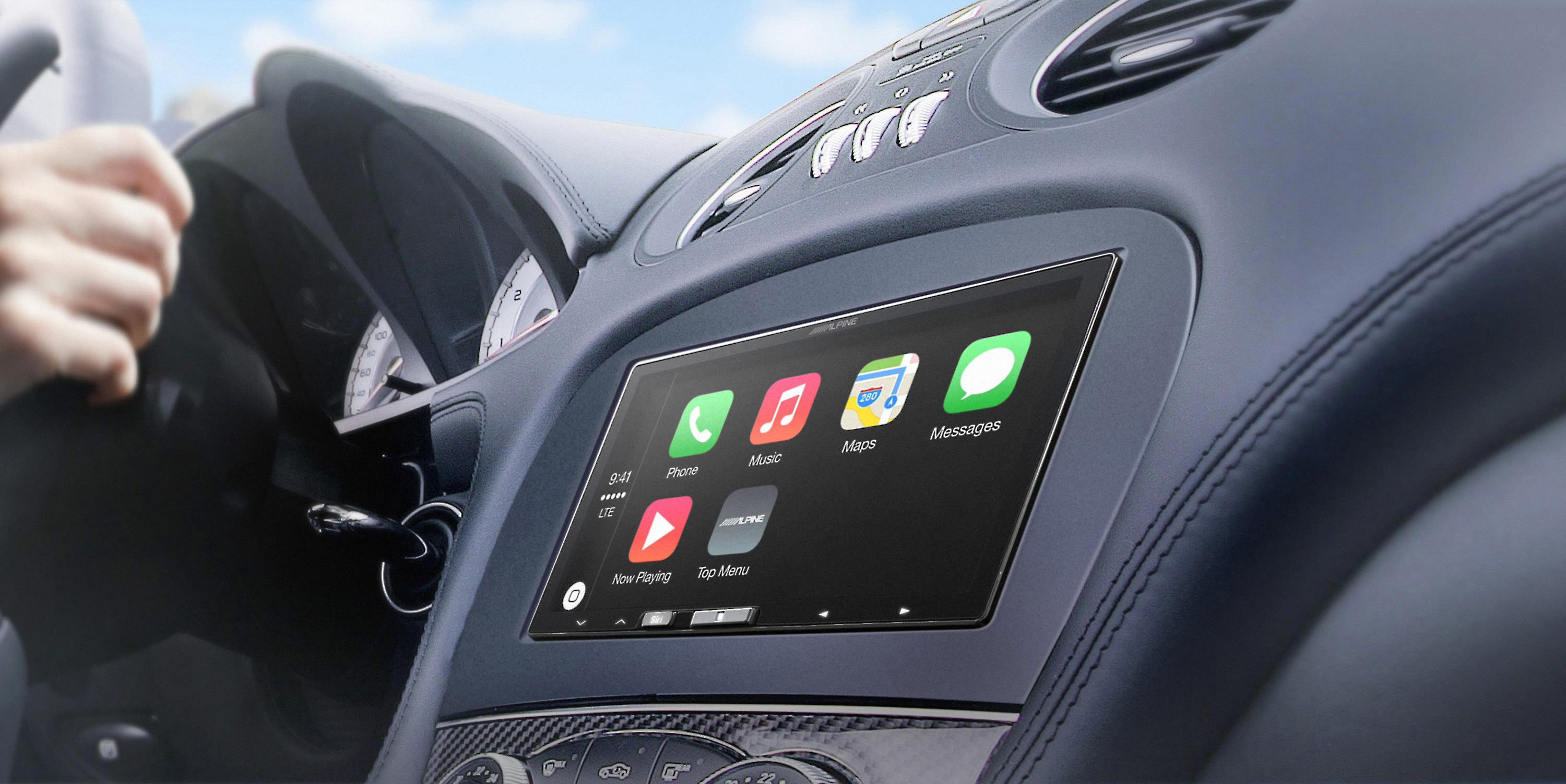 The First Aftermarket Wireless CarPlay System, Alpine's iLX-107, Hits the Market