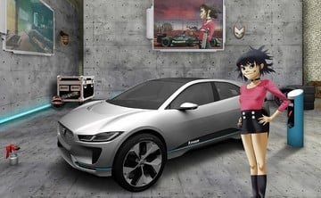 Jaguar Land Rover Recruitment Is on the Fast Track With Gorillaz