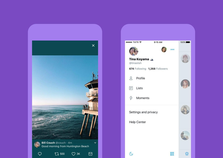 Twitter's Redesigned iOS App