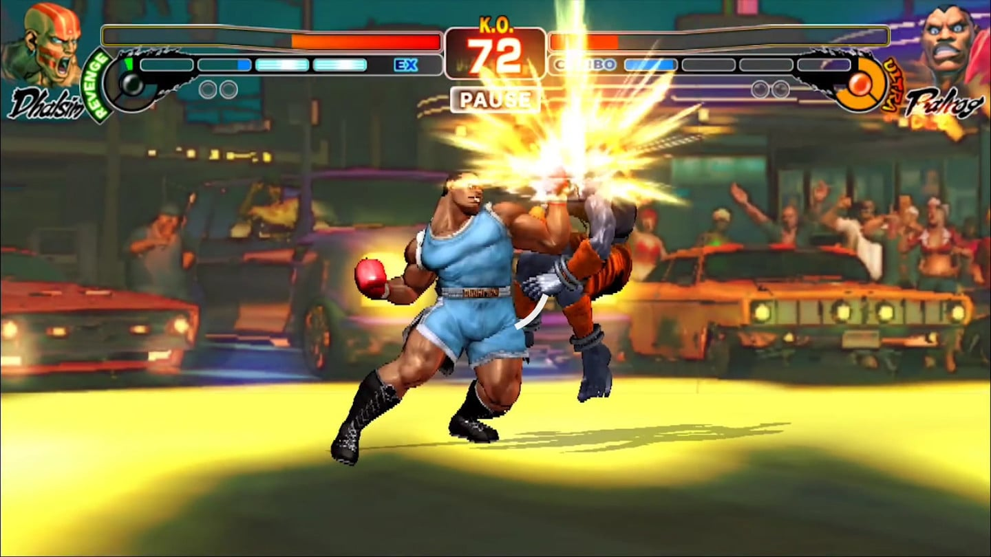 Street Fighter IV Champion Edition is available on the App Store