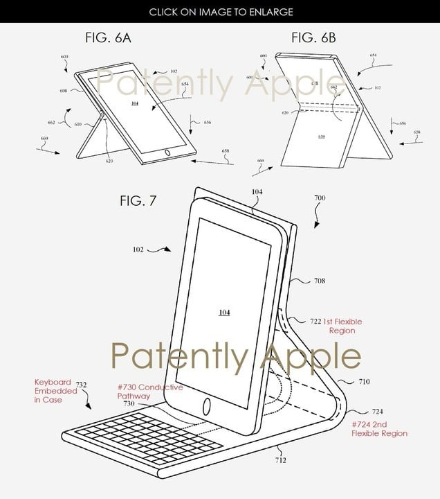 A look at the image in the patent application